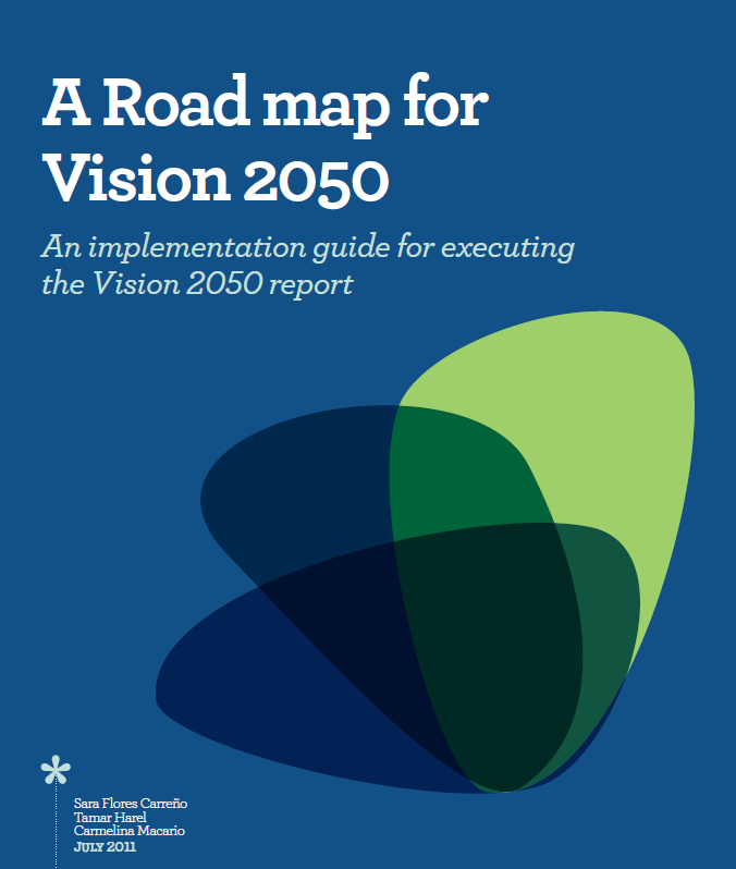 Vision Road Map World business council for sustainable