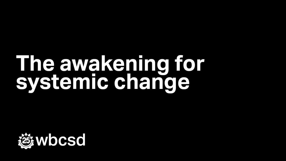 The awakening for systemic change